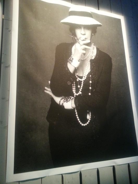 Carine Roitfeld- Coco Chanel
